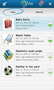 CYou web application - iPhone application Android application