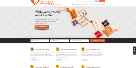 Valigara Online Jewelry Manager